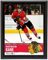 "Patrick Kane Chicago Blackhawks Sublimated 10"" x 13"" Plaque - Mounted Memories"