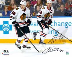 "Jonathan Toews & Patrick Kane Chicago Blackhawks Dual Autographed 16"" x 20"" Photograph"
