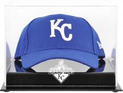 Kansas City Royals 2015 MLB World Series Champions Acrylic Cap World Series Champions Logo Display Case