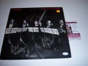 Kansas Steve Walsh Drastic Measures 3 Sigs Jsa/coa Signed Lp Record Album