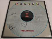 "Kansas Signed Framed ""vinyl Confessions"" Album Kerry Livgren  4 Original Proof"