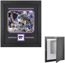 "Kansas State Wildcats 8"" x 10"" Horizontal Setup Frame with Team Logo - Mounted Memories"