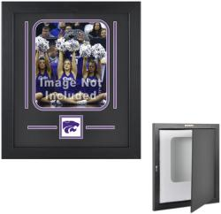 "Kansas State Wildcats 8"" x 10"" Vertical Setup Frame with Team Logo - Mounted Memories"