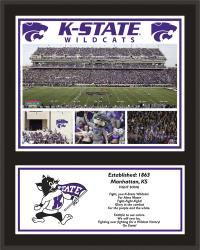 "Kansas State Wildcats Sublimated 12"" x 15"" Plaque - Mounted Memories"