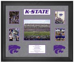 Kansas State Wildcats 5-Photograph Framed Collage - Mounted Memories