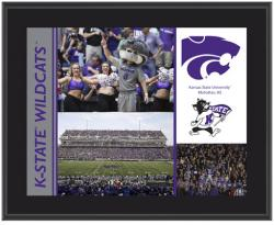 "Kansas State Wildcats Sublimated 10.5"" x 13"" Plaque - Mounted Memories"