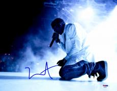 "Kanye West Autographed 11"" x 14"" Performing Photograph - PSA/DNA"