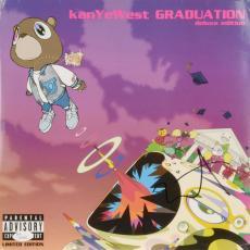 Kanye West Autographed Graduation Album Cover - JSA LOA