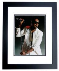 Kanye West Signed - Autographed RARE Yeezus Concert 11x14 inch Photo BLACK CUSTOM FRAME - Guaranteed to pass PSA or JSA
