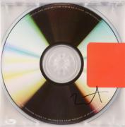Kanye West Autographed Yeezus Album Cover - PSA/DNA LOA