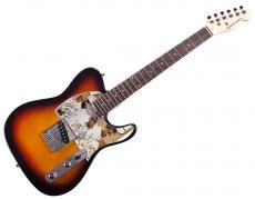 Kanye West Common John Legend Autographed Tele Guitar AFTAL UACC RD