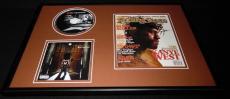 Kanye West Framed 12x18 Rolling Stone Cover & Late Registration CD Display