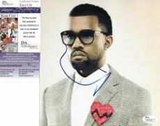 Kanye West Music Legend Signed Autographed 8x8 Photo Authentic Jsa Coa #r63129