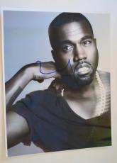 Kanye West Signed Autographed 11x14 Photo LIFE OF PABLO Rapper COA VD