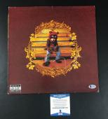 Kanye West Signed Autographed College Dropout Vinyl Album Lp Beckett Bas Coa