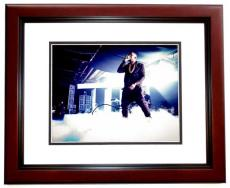 Kanye West Signed - Autographed RARE Yeezus Concert 11x14 inch Photo MAHOGANY CUSTOM FRAME - Guaranteed to pass PSA or JSA