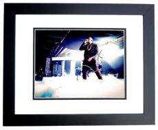 Kanye West Signed - Autographed Yeezus Rap Concert 8x10 inch Photo BLACK CUSTOM FRAME - Guaranteed to pass PSA or JSA