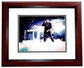 Kanye West Signed - Autographed Yeezus Rap Concert 8x10 inch Photo MAHOGANY CUSTOM FRAME - Guaranteed to pass PSA or JSA