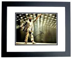 Kanye West Signed - Autographed Yeezus Concert 11x14 inch Photo BLACK CUSTOM FRAME - Guaranteed to pass PSA or JSA