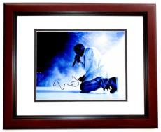 Kanye West Signed - Autographed Yeezus Concert 11x14 inch Photo MAHOGANY CUSTOM FRAME - Guaranteed to pass PSA/DNA or JSA