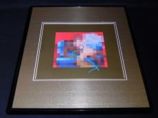Kanye West Signed Framed 2010 Phoenix 16x20 Poster Display