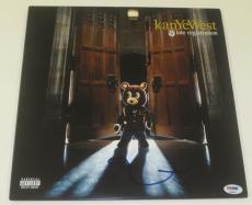 Kanye West Signed Late Registration Album Vinyl Authentic Autograph Psa/dna
