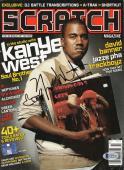 Kanye West Signed Magazine W/ Bear Sketch Yeezus Authentic Autograph Bas Coa