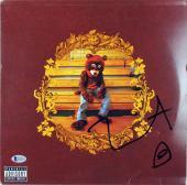 Kanye West Signed The College Dropout Album Cover W/ Vinyl BAS #D17678
