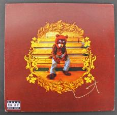 Kanye West Signed 'The College Dropout' Album Cover W/ Vinyl JSA #Y89463