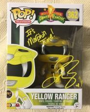 Karan Ashley Signed Autographed Yellow Funko Pop Power Rangers Beckett BAS COA 1