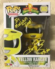 Karan Ashley Signed Autographed Yellow Funko Pop Power Rangers Beckett BAS COA 2