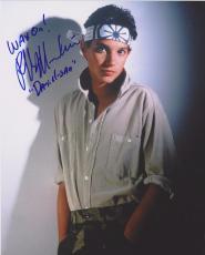 Karate Kid Ralph Macchio Signed 8x10 Photo