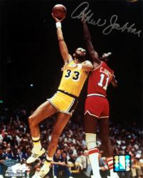 "Los Angeles Lakers Kareem Abdul-Jabbar Autographed 8"" x 10"" Photo - Mounted Memories"