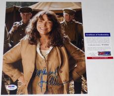 Karen Allen Autographed 8x10 Color Photo (indiana Jones) Psa Dna!