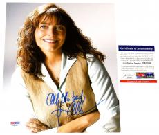 Karen Allen Autographed 8x10 Color Photo (indiana Jones) Psa/dna!