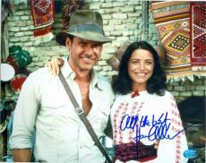 Karen Allen autographed 8x10 photo (Indiana Jones Marion Ravenwood) Image #SC2