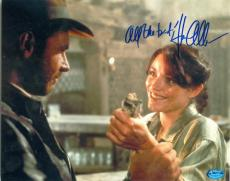 Karen Allen autographed 8x10 photo (Indiana Jones Marion Ravenwood) Image #SC3