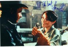 Karen Allen autographed photo (Raiders of the Lost Ark - Indiana Jones) size 6x10 Image #2