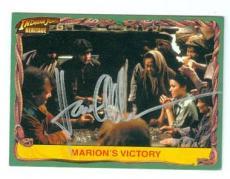 Karen Allen autographed trading card Indiana Jones 2009 Topps Heritage #7