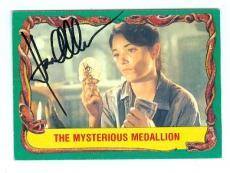 Karen Allen autographed trading card Indiana Jones #24