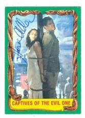Karen Allen autographed trading card Indiana Jones #80