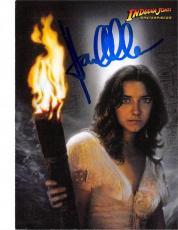 Karen Allen autographed trading card Indiana Jones Masterpieces 2008 Topps #6 Marion Ravenwood