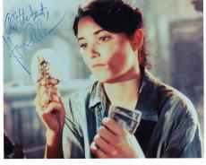KAREN ALLEN HAND SIGNED 8x10 COLOR PHOTO+COA       RAIDERS OF THE LOST ARK