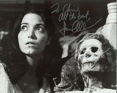 KAREN ALLEN HAND SIGNED 8x10 PHOTO+COA      GREAT POSE   RAIDERS OF THE LOST ARK