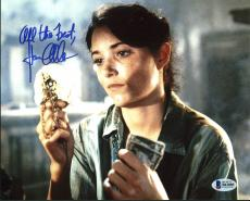 Karen Allen Indiana Jones Signed 8X10 Photo Autographed BAS #B41085