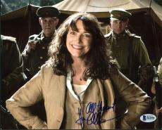 Karen Allen Indiana Jones Signed 8X10 Photo Autographed BAS #B41086