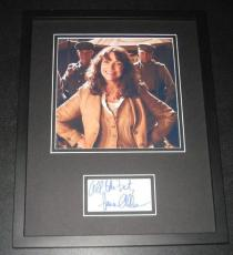 Karen Allen Indiana Jones Signed Framed 11x14 Photo Display JSA