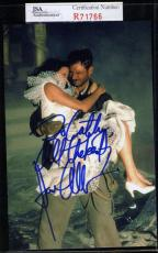 Karen Allen Jsa Coa Hand Signed Raiders Of The Lost Arc Photo Autograph