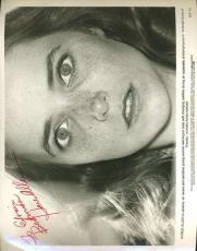 Karen Allen Psa/dna Signed 8x10 Photo Authentic Autograph