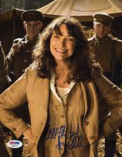 Karen Allen Raiders Lost Arc Signed Psa/dna 8x10 Photo Authenticated Autograph